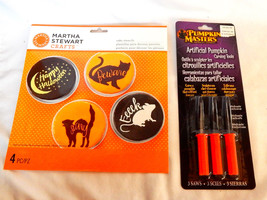 Halloween Martha Stewart Crafts Cake Stencils & Pumpkin Masters Carving ... - $7.89