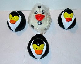 """Rubber Ducks 4ea From Michaels 3"""" x 3"""" 13A - $7.86"""