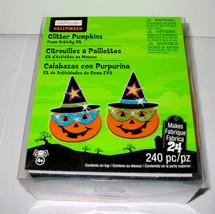Halloween Glitter Pumpkins Foam Activity Kit 240pc By Creatology 4+Makes... - $9.86
