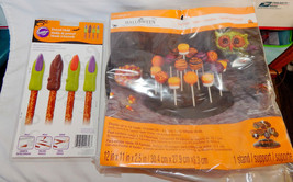 Halloween Celebrate It Treat Stand & Lollipop Sticks Wilton Pretzel Mold... - ₨579.61 INR