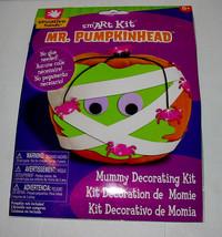 Halloween Mr. Pumpkinhead Smart Kit By Creative Hands Mummy Decorating K... - $4.92