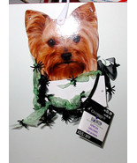 Halloween Ruffled Collar Green Celebrate It Spiders XS small Dog 2 to 6 ... - $4.92