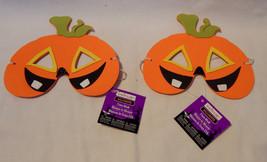 Halloween Foam Masks By Creatology 4+Pumpkins 2ea 40J - $4.91