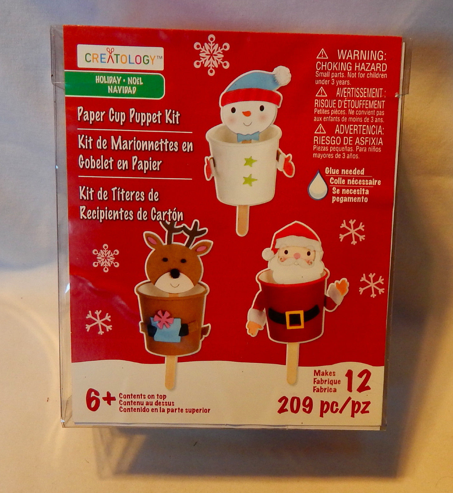 Creatology Christmas Paper Cup Puppet Kit And 50 Similar Items