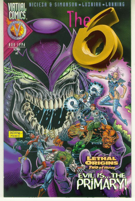 The 6 #2 (Virtual Comics, 1996)