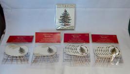 "Spode 2"" Cupcake Picks Christmas Trees 32pcs & Creative Papers Memo Pad ... - $5.91"
