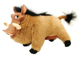 Pumbaa Warthog Lion King Plush Stuffed Animal Walt Disney Collectible VGUC - $19.57