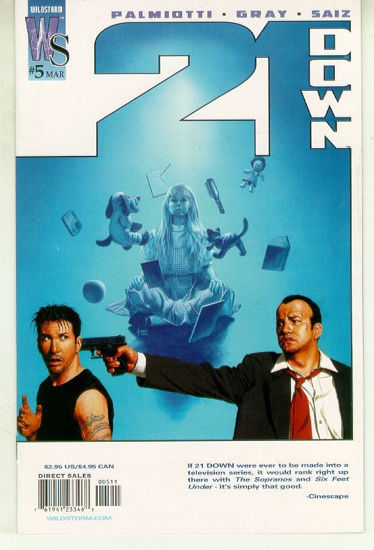 21 Down #5 (Wildstorm, 2002) NM!