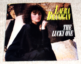 "Laura Branigan - The Lucky One/Breaking Out 7"" Picture Sleeve 45RPM Record - $4.99"