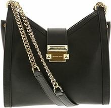 Michael Kors Whitney Small Leather Shoulder Bag BLACK - $149.99
