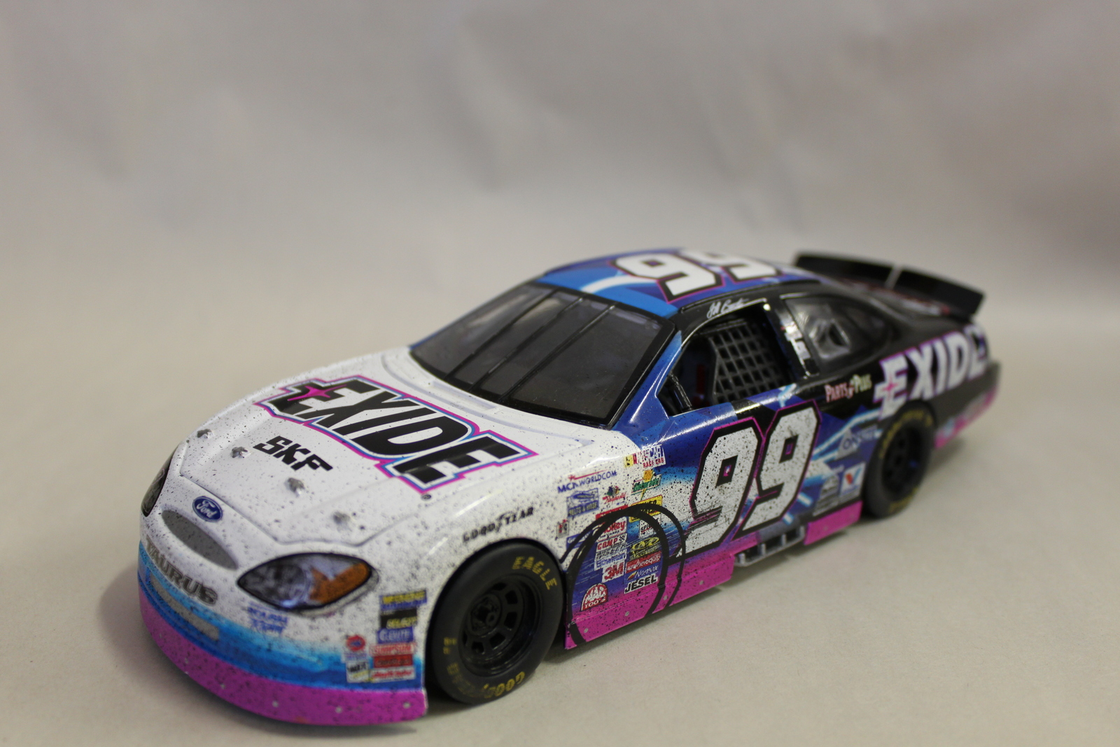 Exide 99 Ford Racing Champions Model Car 2000