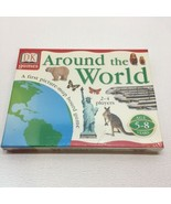 Around The World Picture Map Board Game Dorling Kindersley Number Math L... - $7.92