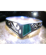HAUNTED ANTIQUE RING ALEXANDRIA'S OWN HECATE BRINGS ABUNDANCE POWER  OOA... - $9,007.77