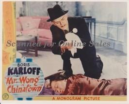 Boris Karloff Mr Wong in Chinatown 8x10 Photo - $9.99