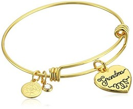 Halos & Glories Grandma Bangle Bracelet (Shiny Gold) - $29.36
