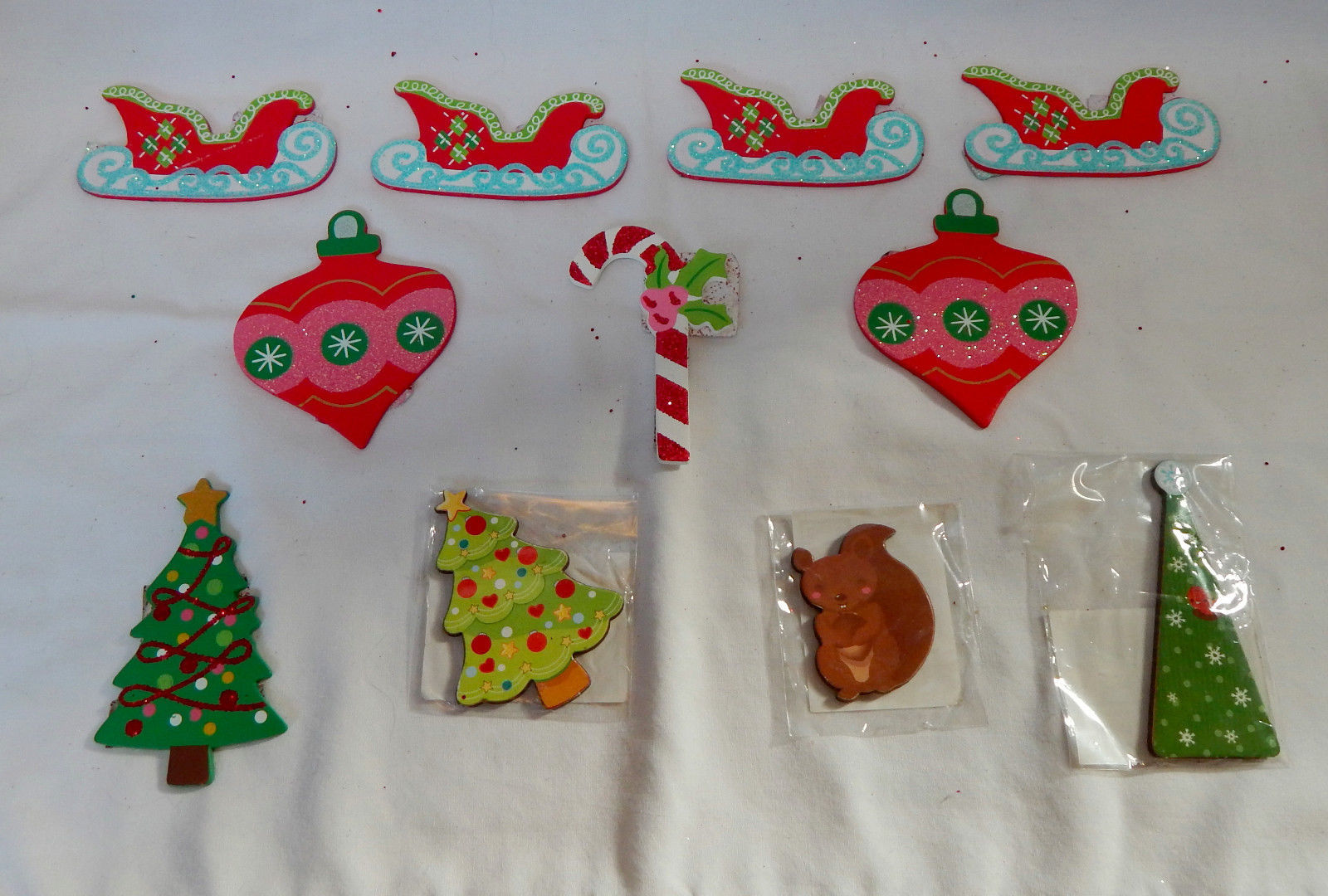 Art minds wood mini shape christmas ornaments 3 x 3 11ea for Michaels crafts christmas ornaments