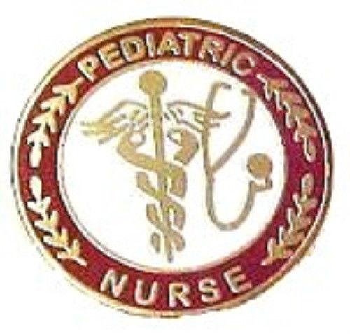 Pediatric Nurse Professional Medical Lapel Pin with Stethoscope Caduceus 111 New image 3