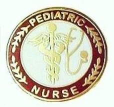 Pediatric Nurse Professional Medical Lapel Pin with Stethoscope Caduceus 111 New image 4