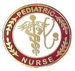 Pediatric Nurse Professional Medical Lapel Pin with Stethoscope Caduceus 111 New image 5