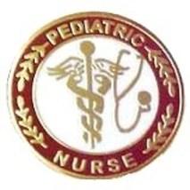 Pediatric Nurse Professional Medical Lapel Pin with Stethoscope Caduceus 111 New image 6