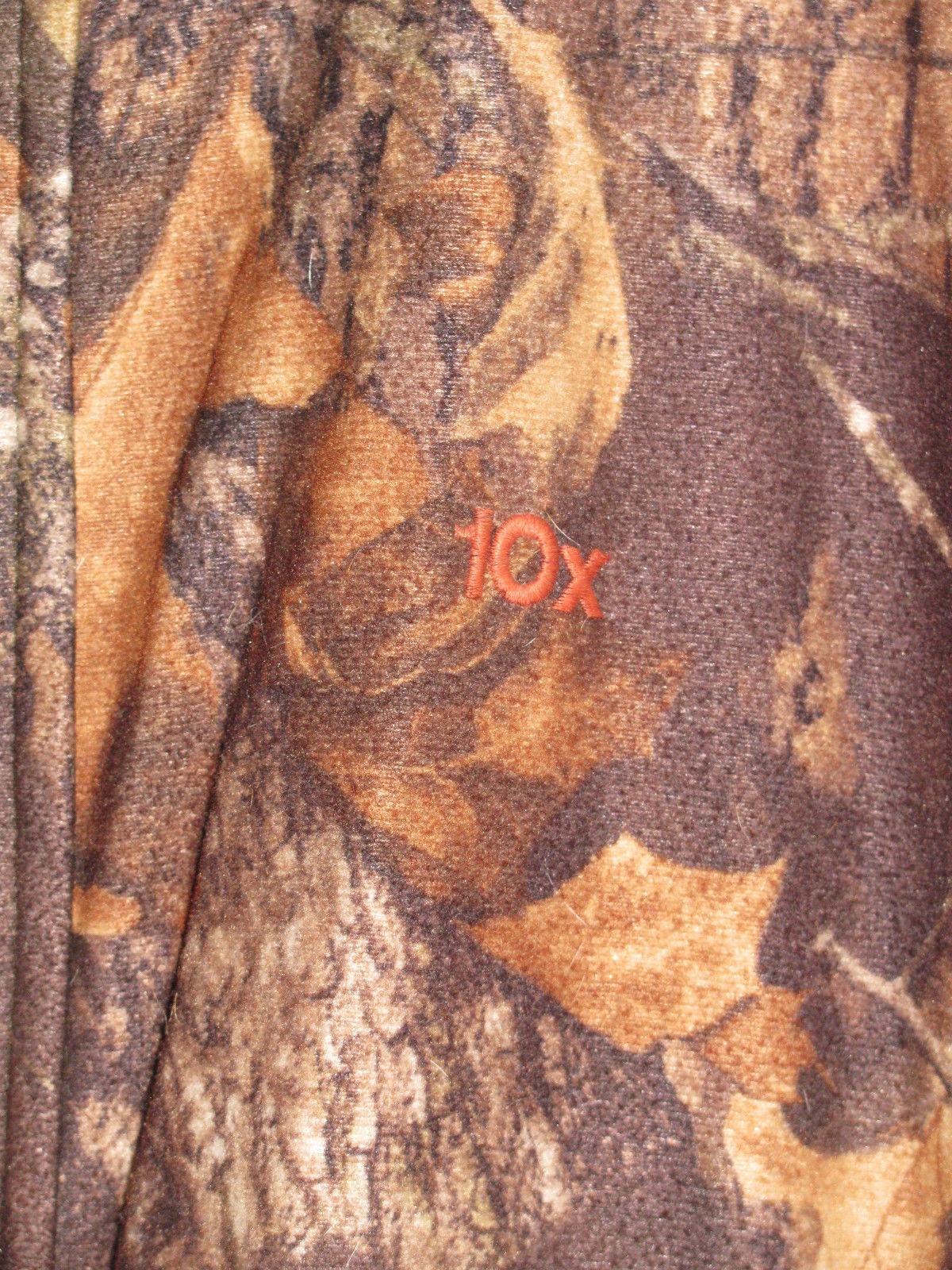 CAMOUFLAGE 10X REVERSIBLE JACKET & VEST-HUNTING-DEER-FISHING-BEAR-WOODS-SPORTS