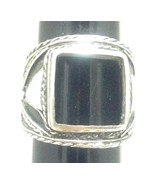 RING Sterling Silver 925 Men's Stoneless Damage... - $19.59