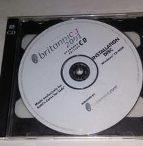 Britannica 2001 Edition Standard CD Rom - Windows - Vintage Logiciel Disque - $28.84