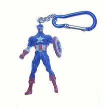 Disney Marvel Capt America Carbinger Key Chain - $14.80