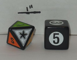 Screenlife TV edition Scene it DVD Board Game Replacement Dice - $9.50