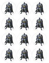 Single Source Party Supply - Batman Cupcakes Edible Icing Image #1 [Toy] - $8.99