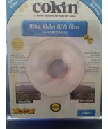 Cokin 25-27MM step up ring with 27mm Ultra Violet Filter - $1.95