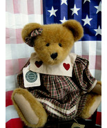 """Boyds Bears """"Jenny McBruin"""" -16"""" QVC Exclusive- #C76782- NWT- 2000- Retired - $39.99"""