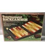 Lowe Tournament Backgammon Set E4314 Vintage 1978 King Of Games & Game O... - $10.94