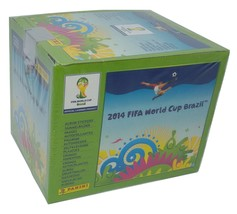 Brasil 2014 Green Edition Box 50 Packs Stickers Panini World Cup - $26.00