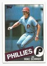 1985 Topps Mike Schmidt #500 Philadelphia Philles (MT) Baseball Card - $1.49
