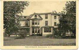 Jackson Hotel Hammonton New Jersey Vintage 1919 Post Card - $6.00