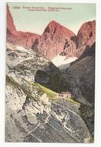 Switzerland Tirol Alps Dolomites Rosengartengruppe Vintage Postcard - $4.99
