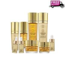 BERGAMO Luxury Gold Skin Care 9 Set Gold Ginseng Brightening Christmas G... - $85.51