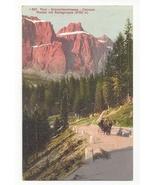 Austria Alps Tirol Canazei Pordoi Pass Dolomitenstrasse Vintage Postcard - $4.99