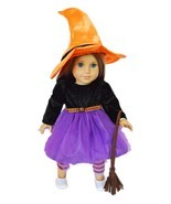 My Brittany's Spider Witch Halloween Costume for American Girl Dolls - $30.11