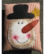 Christmas Decor Pillow  51384SP-Snowman Face   - $7.95