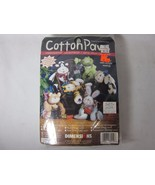 """Dimensions Cotton Paws """"Belle"""" Stuffed Cow Sewing Kit New Sealed - $9.89"""