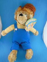 "THE BERENSTAIN BEARS Papa Bear 13"" plus hat Mint with tag MWT - $12.61"
