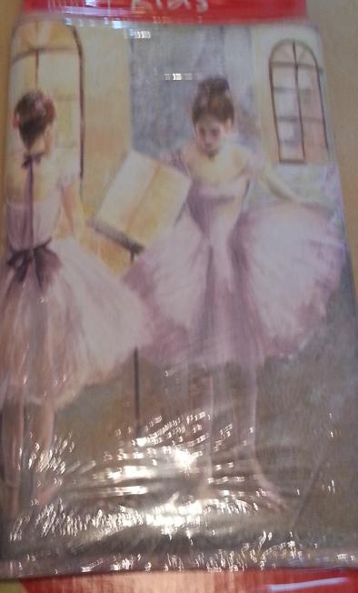 home trends kids wallpaper border rg7415of quotballerina