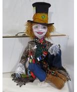 """Boho Hatter Marionette"" PDF Digital E-Pattern/Tutorial By Sharon Mitchell - $20.00"