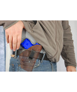 NEW Barsony Brown Leather Inside the Waistband Holster S&W M&P Shield wi... - $32.99