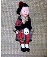 Antique Celluloid or Plastic Scottish Doll - $10.00