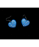 Ab Crystal On Blue Hearts - $5.00