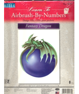 Fantasy Dragon Airbrush By Number - $5.00