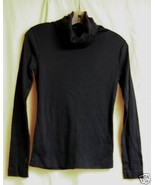 Wrangler Navy Turtleneck Cotton Jersey S/M - $5.00